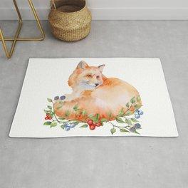 Fox. Rug