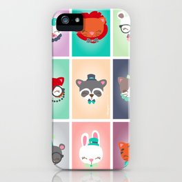 Zoo - Collection Dandynimo's - iPhone Case