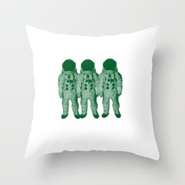 Astro Amigos Throw Pillow