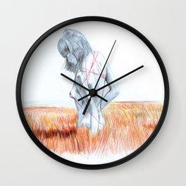 free field Wall Clock