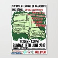 SWANSEA FESTIVAL OF TRANSPORT Canvas Print