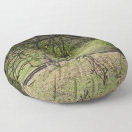 Roo through the Trees Floor Pillow