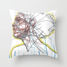 Sleep and a Forgetting Throw Pillow