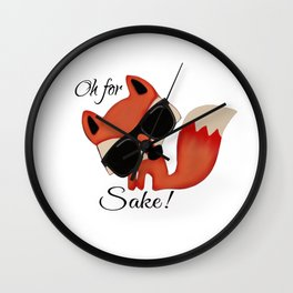Oh for FOX sake! Wall Clock