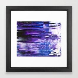 Motion Blues #3 Framed Art Print
