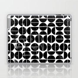 Half Moon Pattern | 70s Style | Fun | Happy Art Laptop & iPad Skin