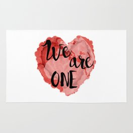 We Are One -Global Community Rug