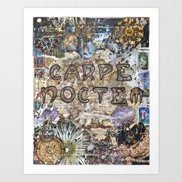 Carpe Noctem: Seize the Night Art Print