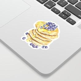 Pancake Stack Watercolor Painting Sticker