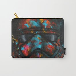 StarWars Stormtrooper Abstract Splash Painting Carry-All Pouch