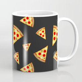 Cool and fun pizza slices pattern Coffee Mug