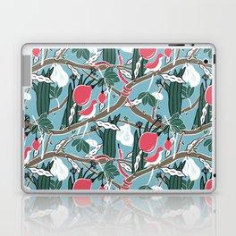 Hiding Birds Pink Laptop & iPad Skin