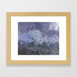 Rough Water Framed Art Print
