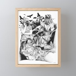 Ominous Farewell Framed Mini Art Print