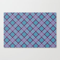 Angled Stripes - Digital Work Canvas Print