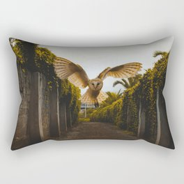 The Owl (Color) Rectangular Pillow