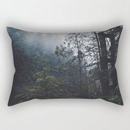 Forest Bridge Rectangular Pillow