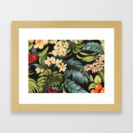 Hawaiian Day Dream Framed Art Print