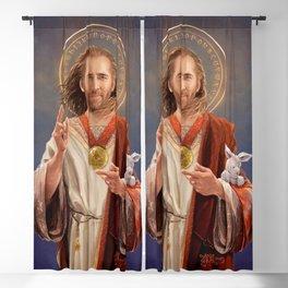 Saint Nicolas of Cage Blackout Curtain