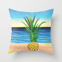 Abacaxi II Throw Pillow