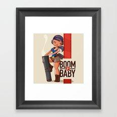 Boom Beach Fan Art - Zooka Framed Art Print