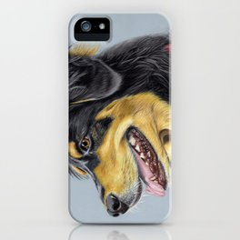Dog Portrait 01 iPhone Case