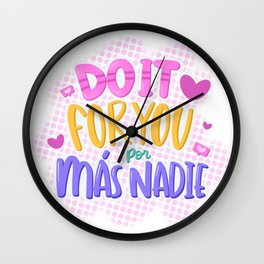 do it for you Wall Clock