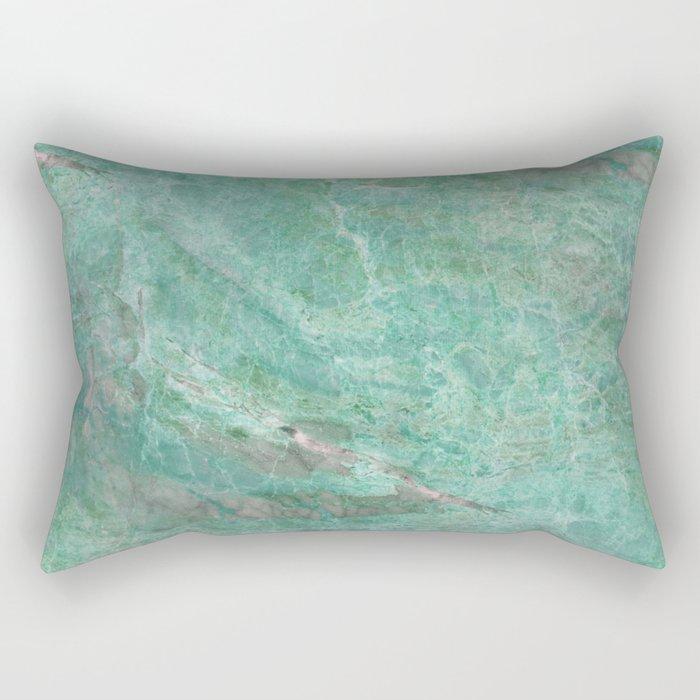 Alfetta verde - turquoise stone Rectangular Pillow