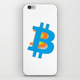 btc iPhone Skin