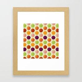 Cutie Fruity (Watercolour) Framed Art Print