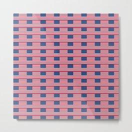 american flag2-Usa,america,united states,us,stars and strips,patriotic,patriot,star spangled banner Metal Print