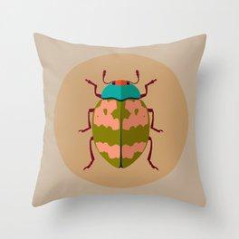 Beetle 01 Throw Pillow