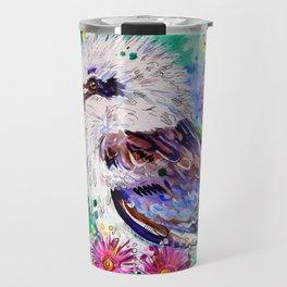 Ruffled Feathers Travel Mug