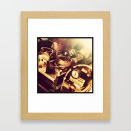 Coffee Machinery  Framed Art Print