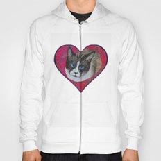 Rastus the Snowshoe cat Hoody