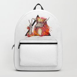 Peace of the Firey Backpack