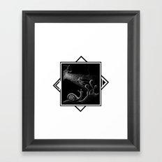 COSMONAUTA Framed Art Print