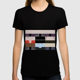 It's been a long road - Star Trek: Enterprise ENT - startrek Trektangle minimalist - trektangles T-shirt
