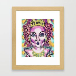 Queen Aggrivated. Framed Art Print