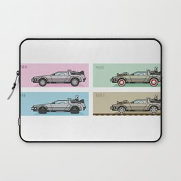 Back to the Future - Delorean x 4 Laptop Sleeve