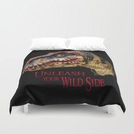 T-Rex Dinosaur - Unleash your wild side Duvet Cover