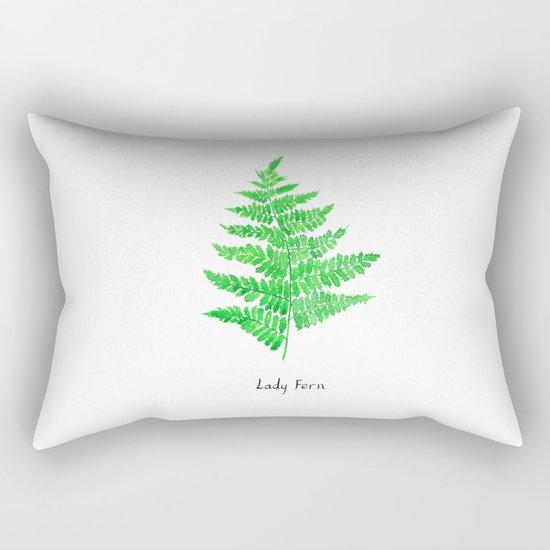 Lady fern Rectangular Pillow