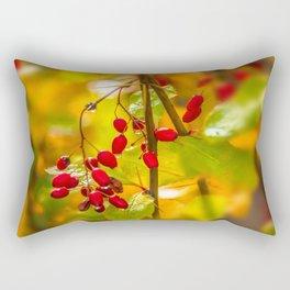 Autumn drops Rectangular Pillow