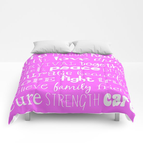 Breast Cancer 2015 Comforters