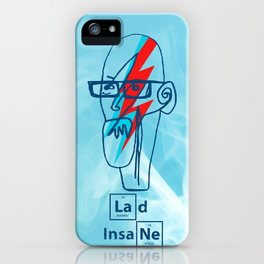 Ziggy White - A Lad Insane  iPhone Case