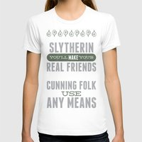 slytherin T-shirts featuring Slytherin by Dorothy Leigh