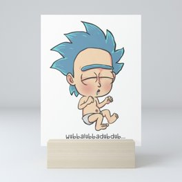 Baby Rick Mini Art Print