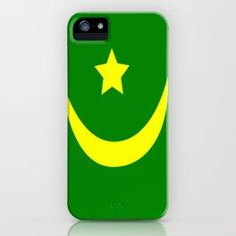 Flag of Mauritania iPhone Case
