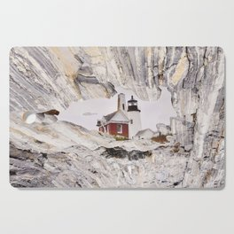Lighthouse reflection Cutting Board