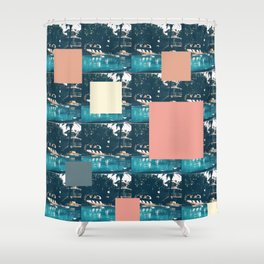 swimming pool 2 Shower Curtain